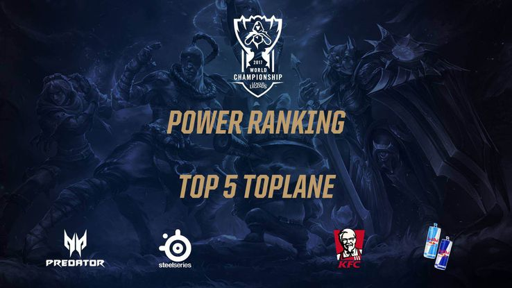 Worlds: Power ranking - TOP 5 graczy na górnej alei