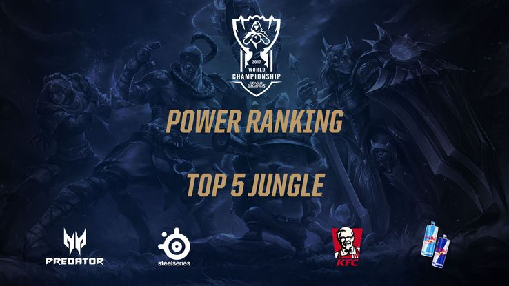Worlds: Power ranking - top 5 junglerów fazy Playoff